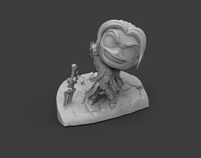 3D print model Anduin Wrynn - World of Warcraft Chibi