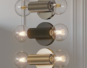 Utilitaire In-Line Wall Sconce 3D