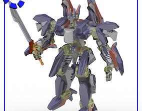 IronClad Robot Mech for Poser 3D