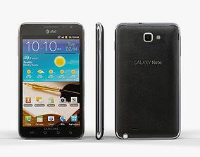 3D model game-ready Samsung Galaxy Note ATT