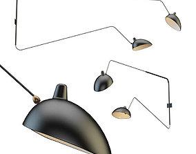 Chandelier Serge Lamp sconce 3D