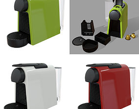 3D asset Nespresso Coffee Machine Essenza Mini