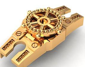 Eslabon para cadenas chain link 3D print model
