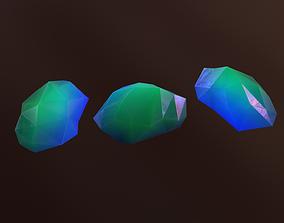 3D asset Gemstone