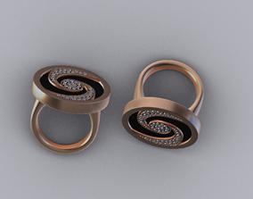 3D asset low-poly women ring