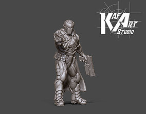 3D printable model Space Bounty hunter - 35 mm scale