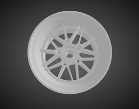 Forgiato Maglia rims for Hot Wheels 3D print model