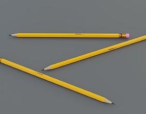 3D model game-ready PBR Pencil