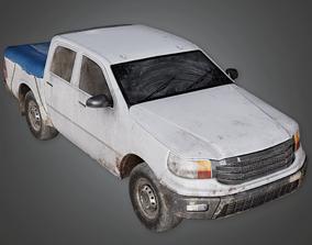 Pickup Truck - GEN - PBR Game Ready 3D asset