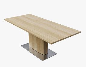 Modern Dining Table 04 3D asset