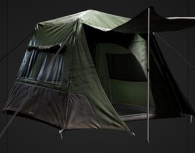 3D asset Camping Tent