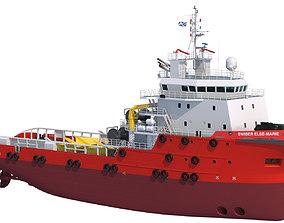 70 m AHTS Anchor Handling Tug Supply 3D