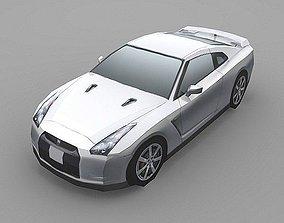 Nissan GT-R 3D asset
