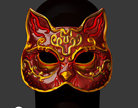 3D print model Spider Splicer Kitty Mask - Splicer Cat 2