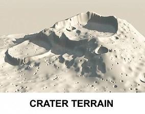 3d Terrain Crater
