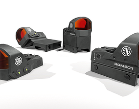 Sig Sauer Romeo1 Miniture Reflex Sight 3D model