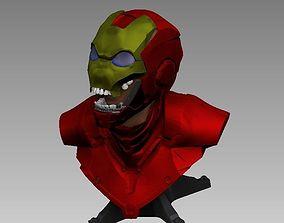 3D model Possessioned iron man