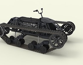 Tracked vehicle 4 3D