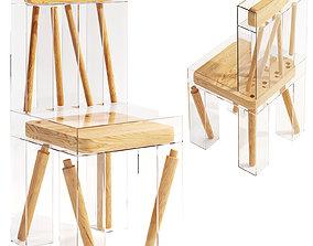 Exploded Chair by Joyce Lin 3D model