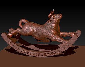 3D print model Rocking Bull