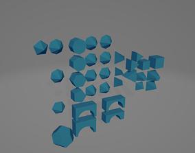 3D print model Assortment Of Shapes