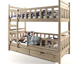 3D model Bunk Bed 05