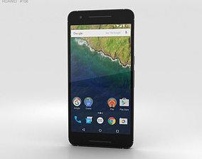 Huawei Nexus 6P Aluminium 3D