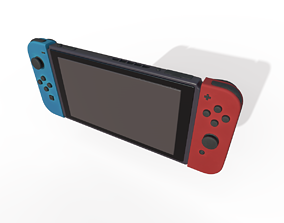 Nintendo Switch game-character 3D model