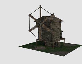 building 3D model Wind Mill