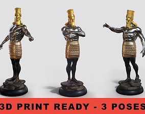 3D model Daniel 2 Statue 3 in 1 pose Combo collection King