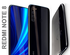 redmi note 8 snapdragon 3D model