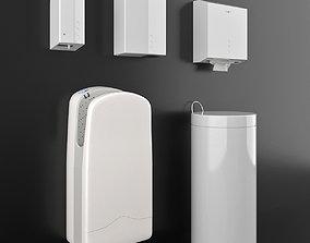 NOFER white SET 08 3D model