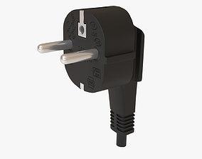 3D asset Electrical Plug