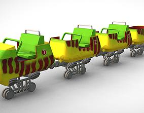 Jurassic Park Bone Shaker Train 3D model
