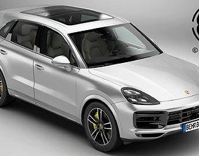Porsche Cayenne Turbo 2018 3D model