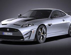 Jaguar XKR-S GT 2015 VRAY 3D model