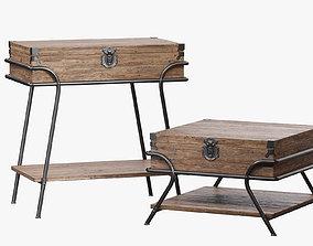 DIALMA BROWN Table set db003569 3D