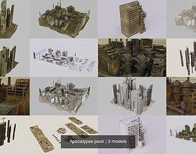 abandoned Apocalypse pack 3D model