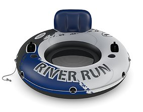 Intex Red River Run 1 Fire Edition Sport Lounge 3D model