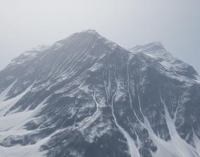 3D model realtime Mountain Landscape