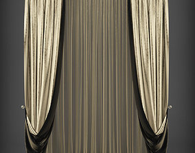 realtime Curtain 3D model 238