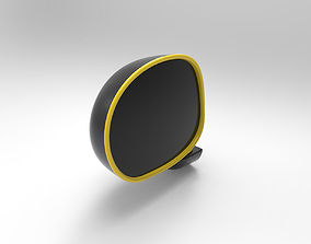 muv Car side view mirror 3D