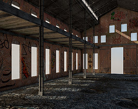 3D model Old Warehouse 5 interior and exterior