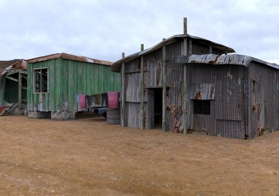 Shanty Town Buildings 2