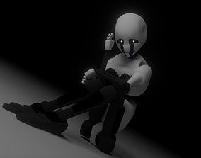 Fully Rigged Puppet 3D
