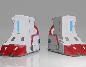 Download Robot Boots in Blender file and obj 3D