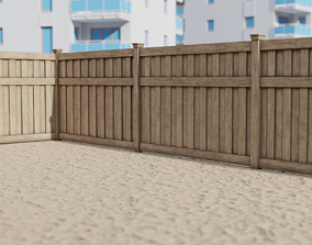 Fence new 3D model realtime