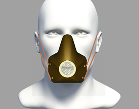 Protective Mask 3D print model