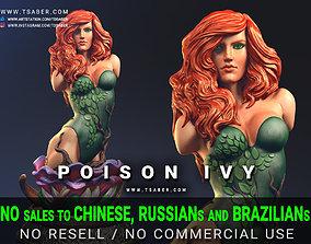 3D print model Poison Ivy Bust - DC comics