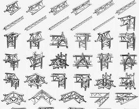 3D print model Triangular Truss Standard Collection 41 1